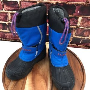 LL Bean winter outdoors Boots Snow ⛄️ unisex youth